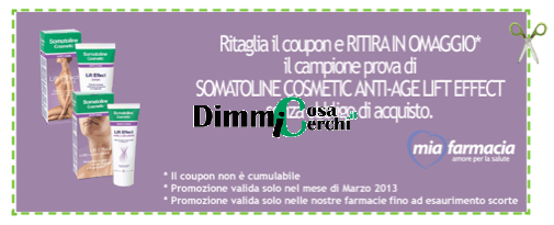 coupon da stampare