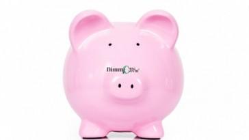 Lovely pink piggy bank