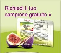 Campione gratuito alimentare Frutta e Fibre