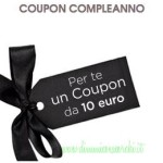 Coupon sconto 10€ Diego dalla Palma store