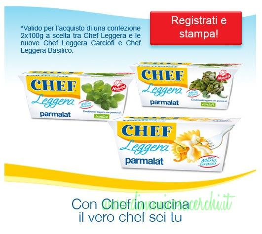 coupon Parmalat chef