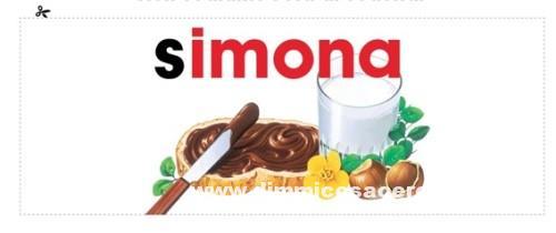 Etichette personalizzate Nutella: richiedi la tua!
