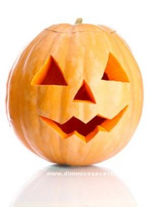 halloween pumpkin, isolated on white