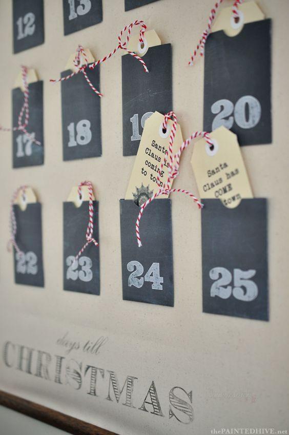 Calendario Ogni Giorno Una Frase.Calendari Avvento Fai Da Te 20 Idee Facili Da Copiare