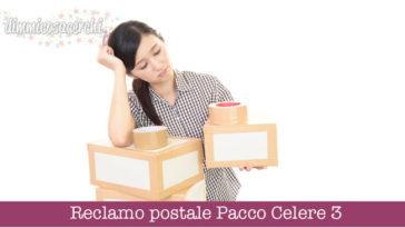 Reclamo postale Pacco Celere 3