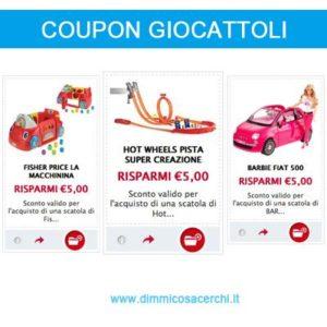 coupon-giocattoli