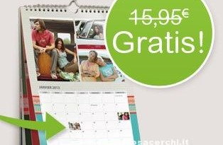 Calendario gratis con Photobox