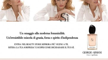 Profumeria sephora - Omaggio Giorgio Armani
