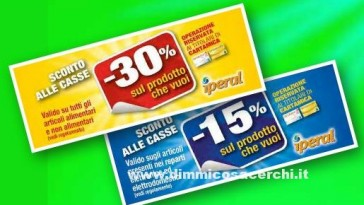 Buoni spesa supermercati Iperal