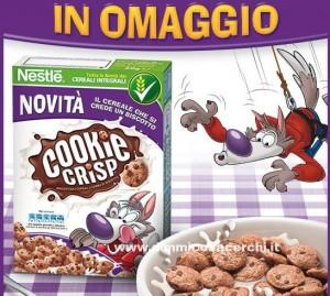 Campione omaggio cereali Cookie Crisp