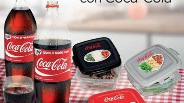 Contenitori per alimenti Coca Cola