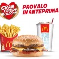 Coupon Mc Donald nuovo Gran Crispy McBacon