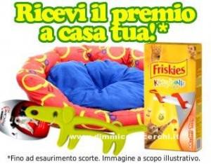 Cuccia omaggio Purina con Petpassion.tv