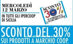 Ipercoop Sicilia sconti