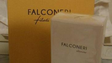 profumo Falconeri omaggio con catalogo