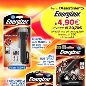 Assortimento pile Energizer 4,90 euro!