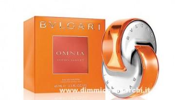 Campione omaggio Omia Indian Garnet di Bulgari