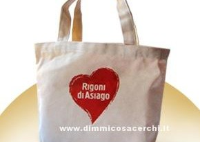 Mini Shopper omaggio Rigoni di Asiago