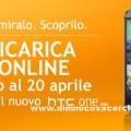 Ricarica Wind e vinci telefoni HTC