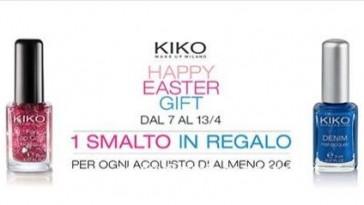 Smalto Kiko omaggio online ed in negozio