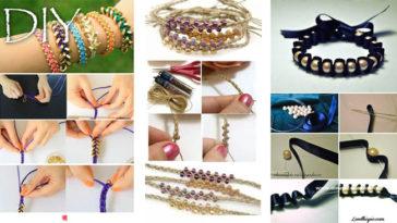 10 braccialetti fai da te