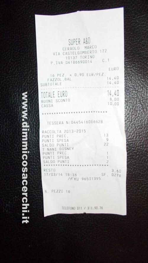 Spesa con i coupon