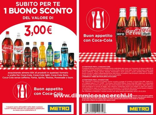 huge selection of 4c18f fd8ca 3 euro di sconto Coca Cola | DimmiCosaCerchi