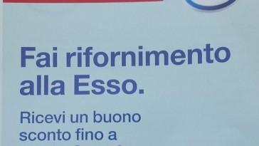 Buono sconto Carrefour alla Esso