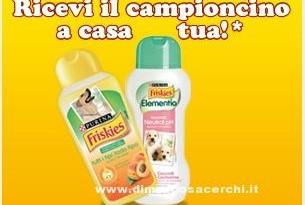 Campioncino shampoo Friskies per cani
