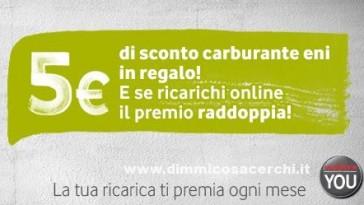 Premio Vodafone Maggio Buono carburante