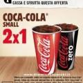 Buono sconto Coca Cola da Burger King