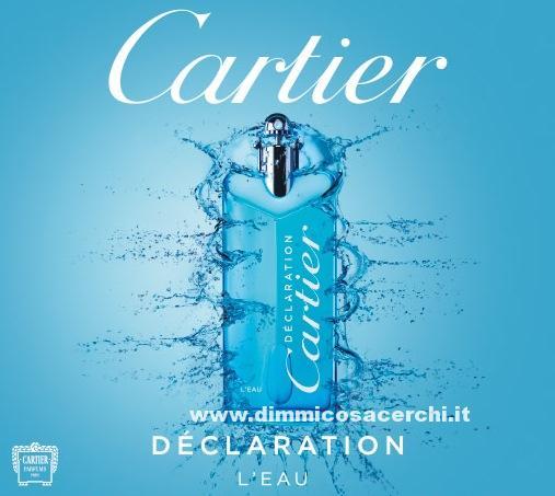 Campione omaggio Cartier Declaration