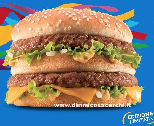 McDonald coupons, panino edizione limitata