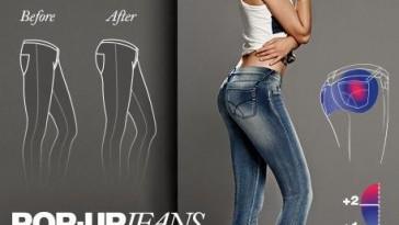 Pop-Up Jeans