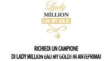 campione Lady MILLION Eau My Gold