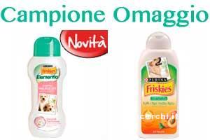 campione omaggio shampoo friskies