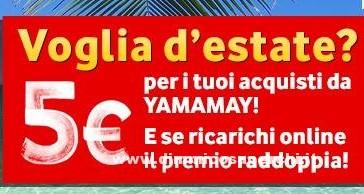 Buono sconto Yamamay con Vodafone You