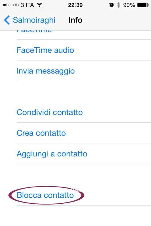 blocca-contatto-sms