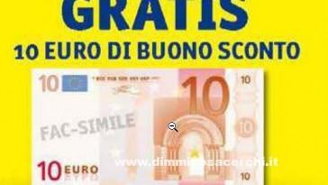 buono spesa famila da 10 euro