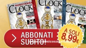 Clock orologio De Agostini