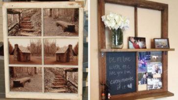 Come riciclare vecchie finestre: foto gallery con tante idee!
