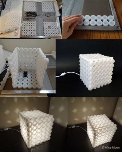 Come riciclare vecchi tappi di plastica