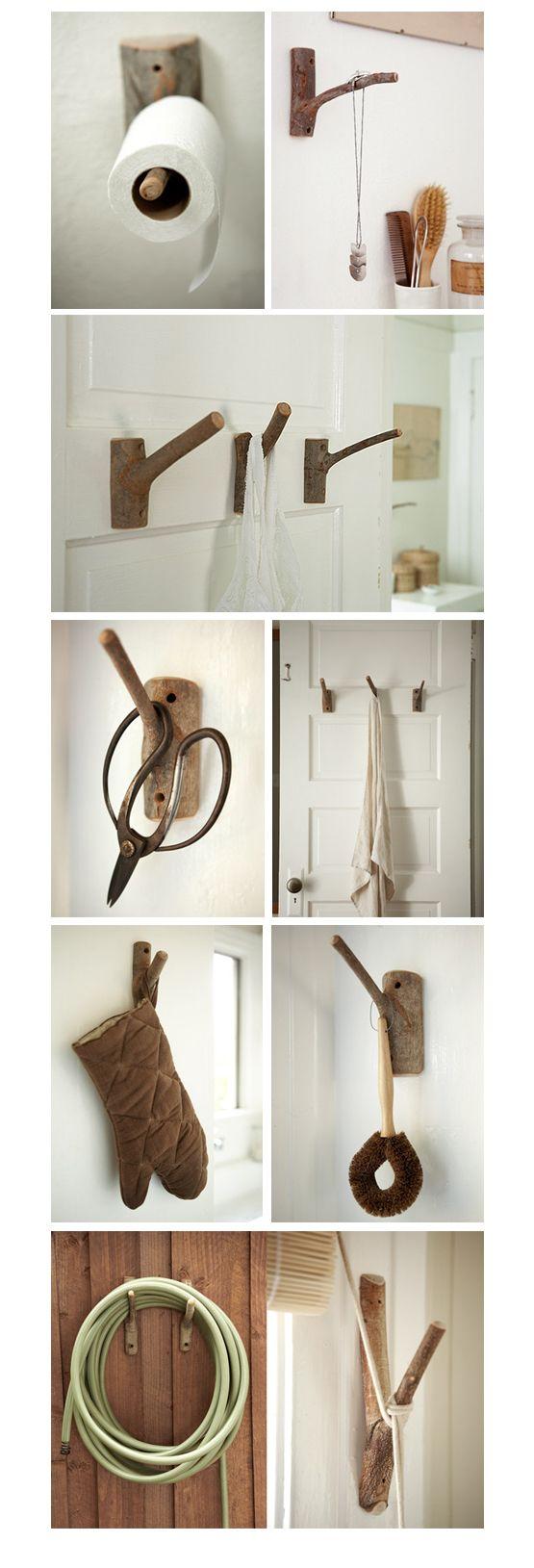 Decorare casa con i rami