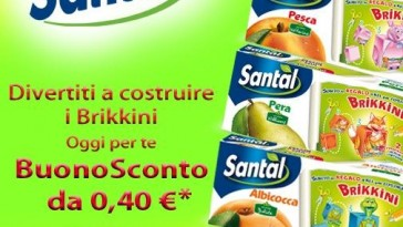 Coupon Santal Brikkini da stampare