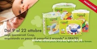 Promozione pannolini Crescendo Coop