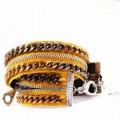 Realizzare un braccialetto con una vecchia cerniera Zip