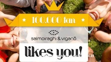 Buono spesa Salmoiraghi e Viganò per festeggiare i 100.000 fans
