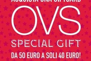 OVS gift card a prezzo scontato