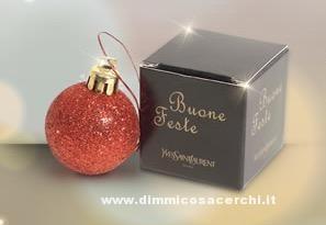 Pallina di Natale omaggio da Esserbella profumerie