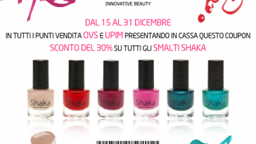 Coupon sconto Shaka